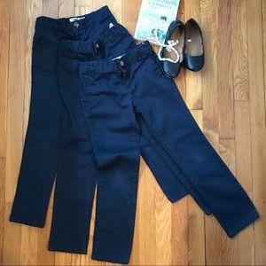 Old Navy Skinny Uniform Pants Bundle